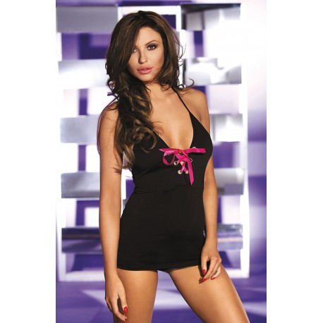 SOH-HL 96565 BLACK/HOT PINK