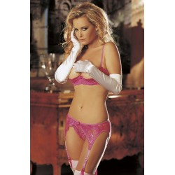 SOH 20412 GARTER BELT PASSION PINK