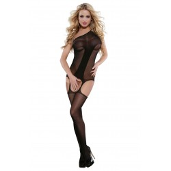 YESX YX406 BODYSTOCKING BLACK