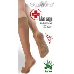 GABRIELLA MEDICA MASSAGE 20 KNEE HIGHS