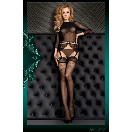BALLERINA 390 HOLD UPS NERO (BLACK)