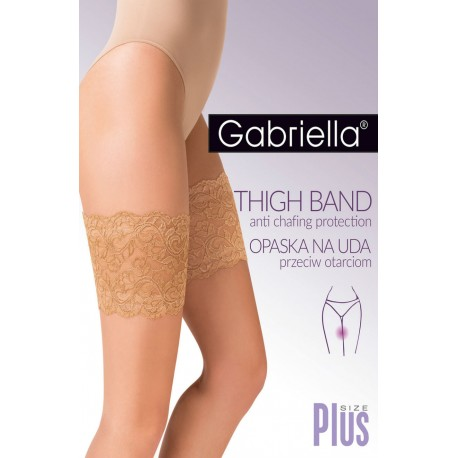GABRIELLA LACE THIGH BAND 509 BEIGE 7/8