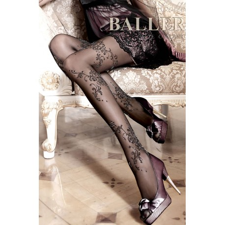 BALLERINA 096 TIGHTS NERO (BLACK)