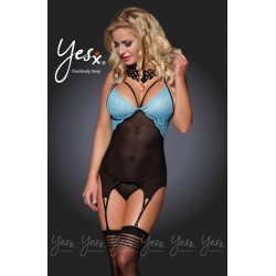 STUNNING THREE PIECE OUTFIT BUSTIER WITH SUSPENDERS