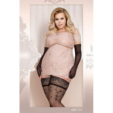 BALLERINA 371 HOLD UPS NERO (BLACK)