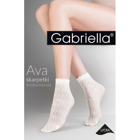 GABRIELLA AVA 693 NERO SOCKS ONE SIZE