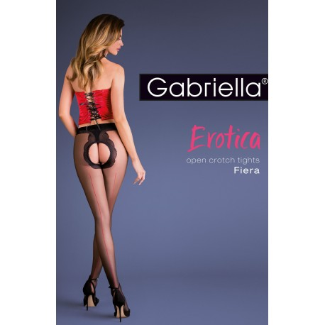 GABRIELLA EROTIC 668 FIERA BLACK 3/4