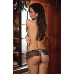 BN6387 BEAUTY NIGHT MIRIAM THONG BLACK