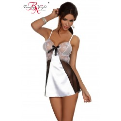 BEAUTY NIGHT YASMINE CHEMISE WHITE