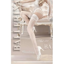 BALLERINA 120 HOLD UP BIANCO (WHITE)