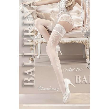 BALLERINA 120 HOLD UP BIANCO (WHITE)