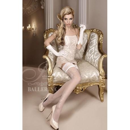 BALLERINA 256 HOLD UPS WHITE