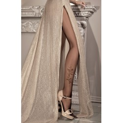 BALLERINA 085 TIGHTS NERO (BLACK) / LUREX