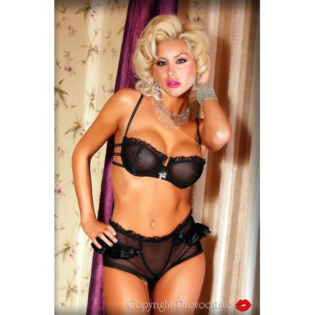 PROVOCATIVE SOIREE INTIME SHORTY SET