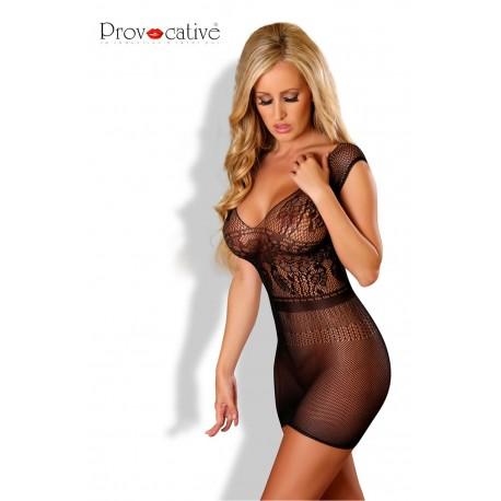 PROVOCATIVE SEXY DRESS BLACK
