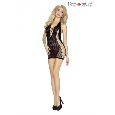 PROVOCATIVE PR4958 SEXY DRESS BLACK
