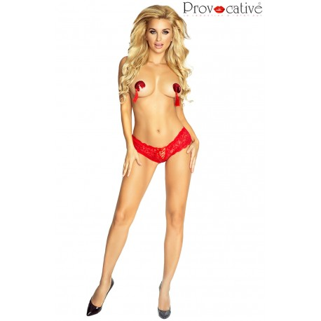 PROVOCATIVE PR4758 MAMBO SHORTY RED