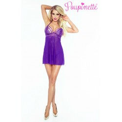 PROVOCATIVE PO6004 PURPLE SEDUCTION BABYDOLL