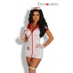 PROVOCATIVE SEXY LOVE NURSE COSTUME