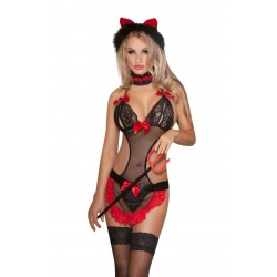 SIX PIECE WITCHES CAT COSTUME