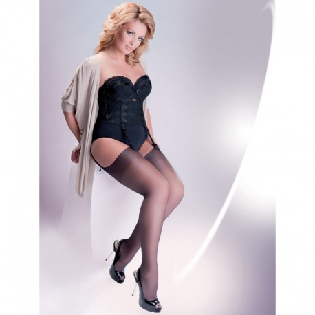 STOCKINGS 166 15 DEN BEIGE (PLUS SIZE)