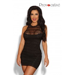 PROVOCATIVE SEXY LACE DRESS BLACK