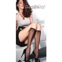 GABRIELLA TERRI TIGHTS NERO ONE SIZE